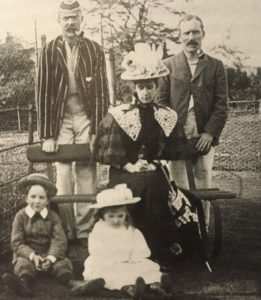 William Gaddum and family